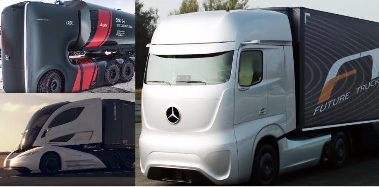 les 5 plus incroyables camions du futur sciencepost. Black Bedroom Furniture Sets. Home Design Ideas