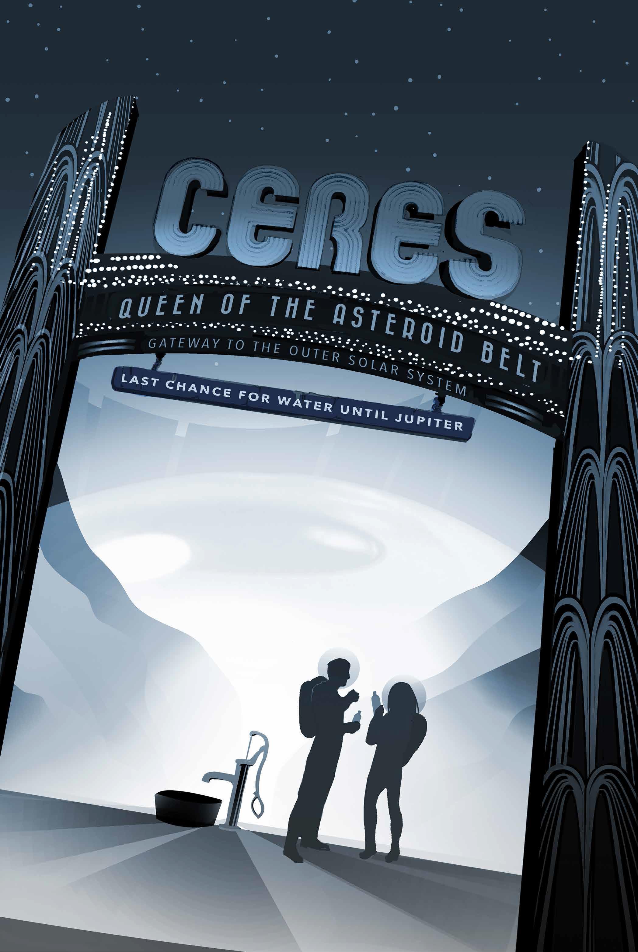 """La """"reine de la ceinture d'astéroïdes"""", la planète naine Cérès, """"dernière chance pour obtenir de l'eau avant Jupiter"""""""