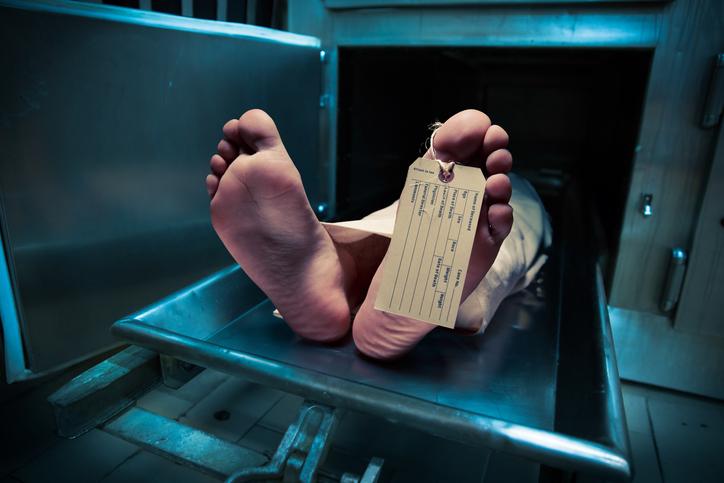 morgue mort
