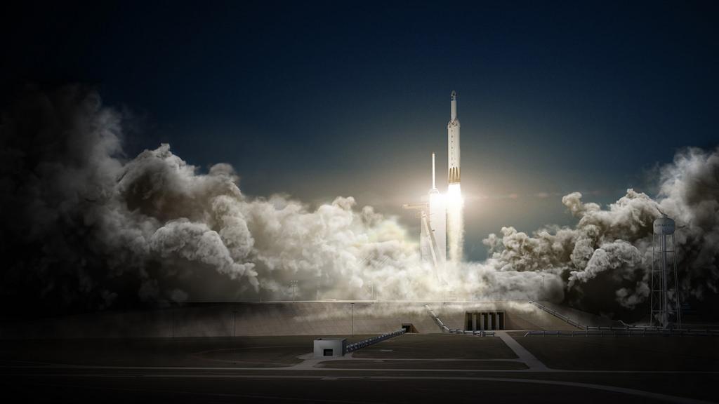 Le Falcon Heavy de SpaceX s'envolera bientôt pour la Lune - SciencePost