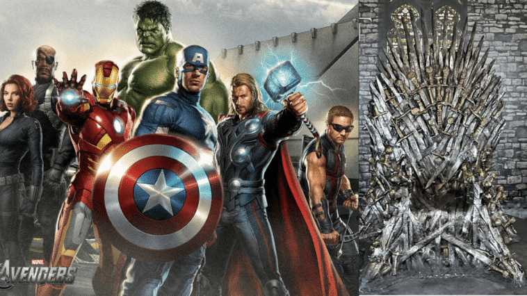 avengers game of thrones