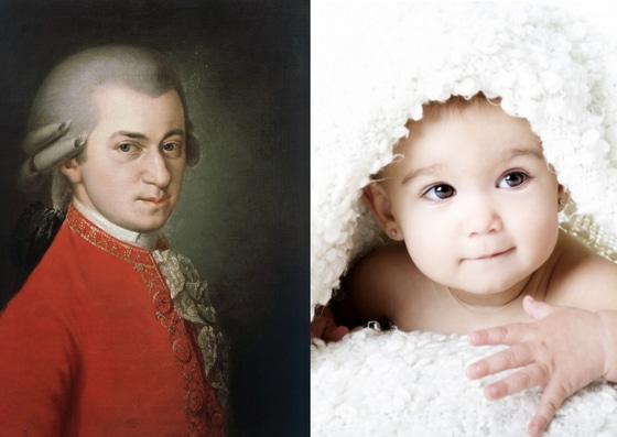 effet Mozart bebe musique classique
