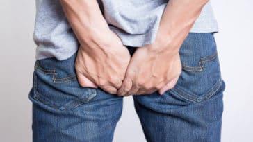 rectum fesse