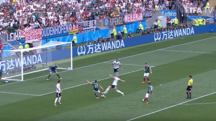 mondial foot but Mexique