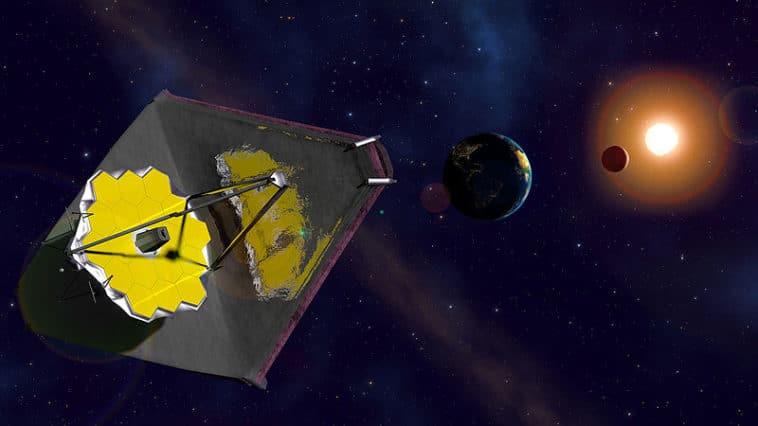James Webb télescope spatial