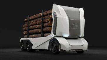 T-Log camion bucheron
