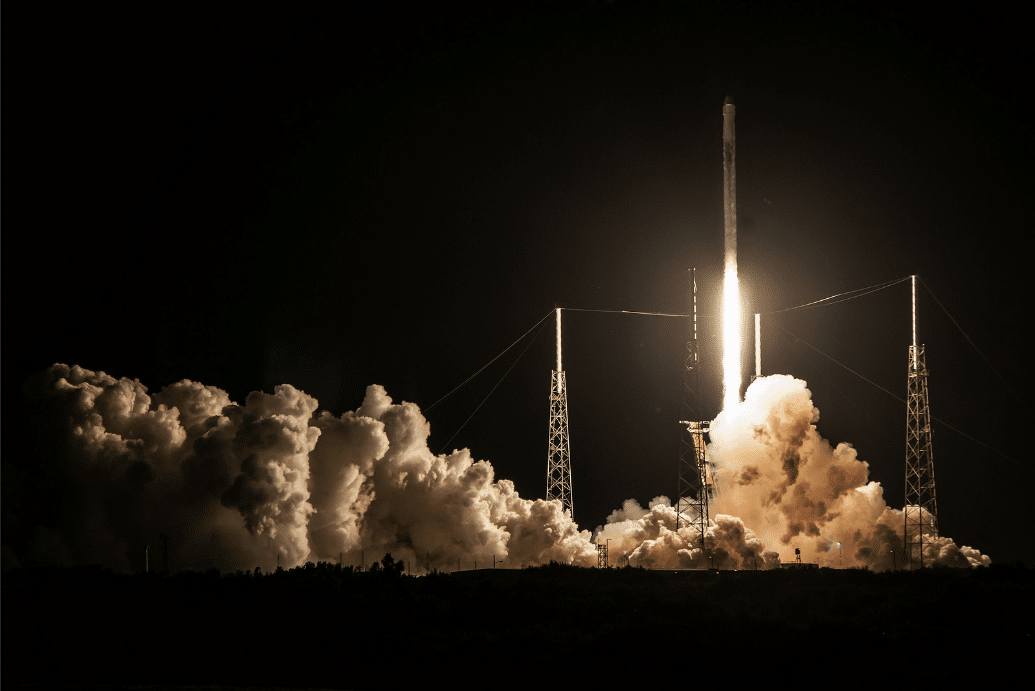 décollage mission CRS 15 SpaceX iss