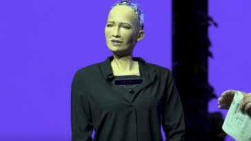 robot Sophia intelligence artificielle