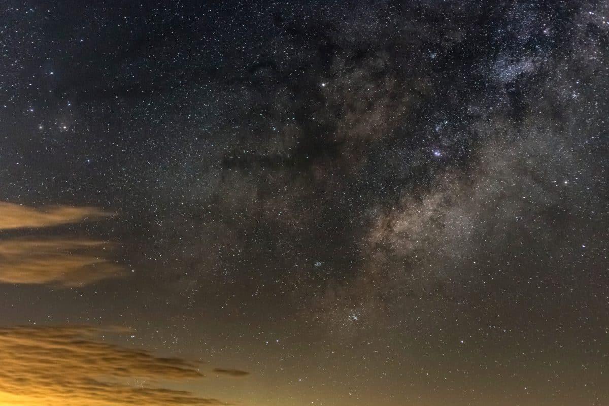 Ciel étoile astronomie