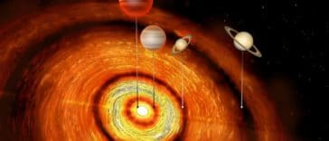 C1 Tau exoplanètes Jupiter chaud étoile astronomie ALMA