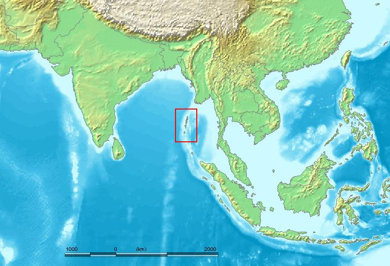 îles Andaman Inde