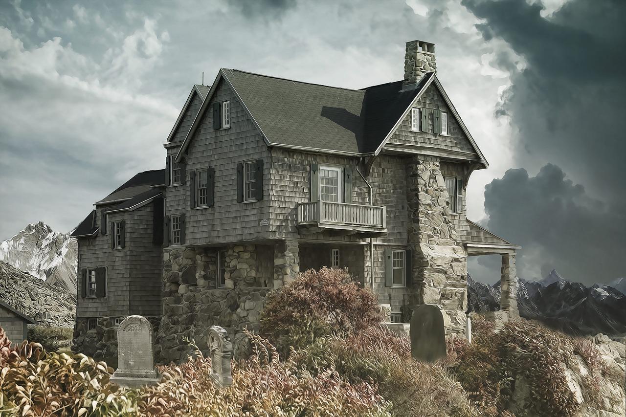 fantômes maison hantée