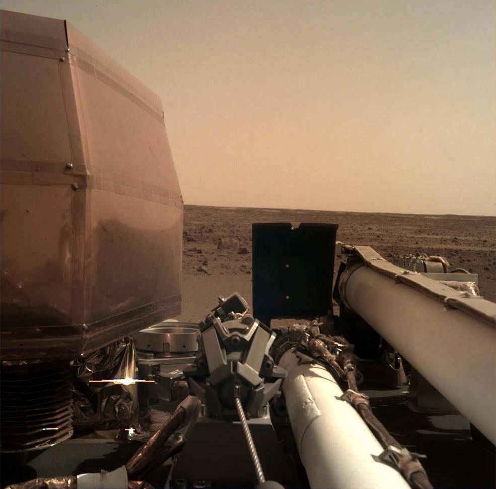 Insight Mars NASA photo