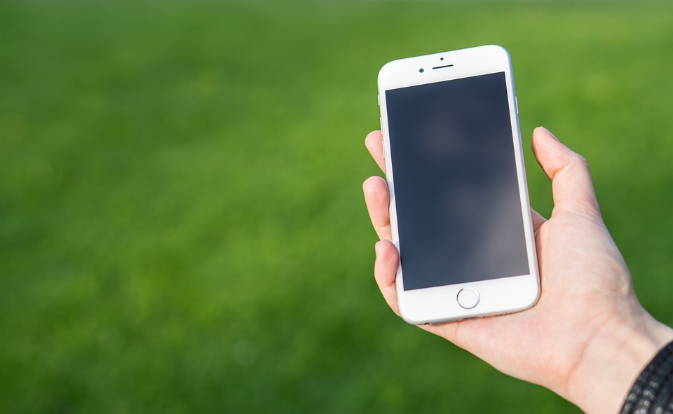 Iphone Smartphone Technology White Display
