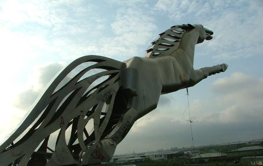 Sleipnir d'Odin cheval Islande Viking