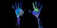 mains fluo marque
