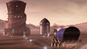 Mars habitat