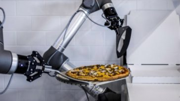 robot pizza