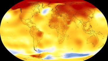 température anomalies climat