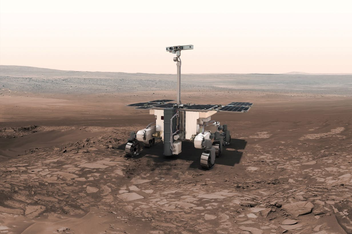 missions rover exomars