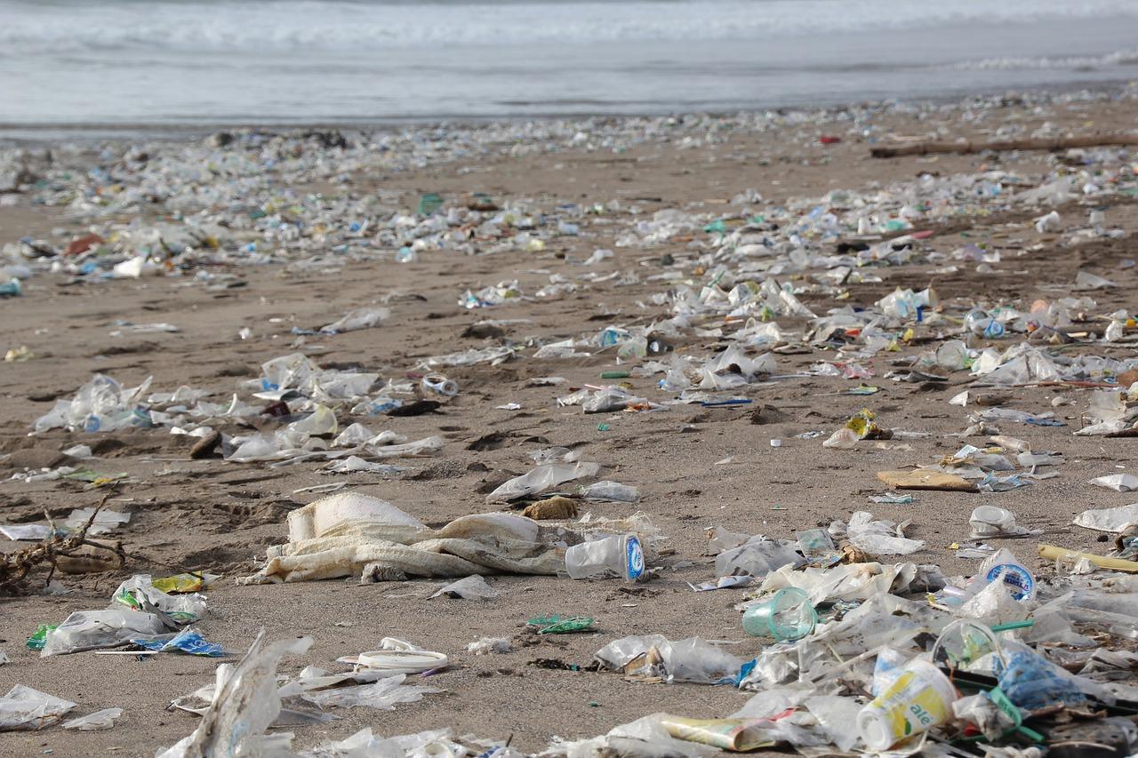 plastique plages
