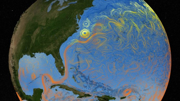 océan gulf stream
