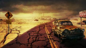 paysage post apocalyptique