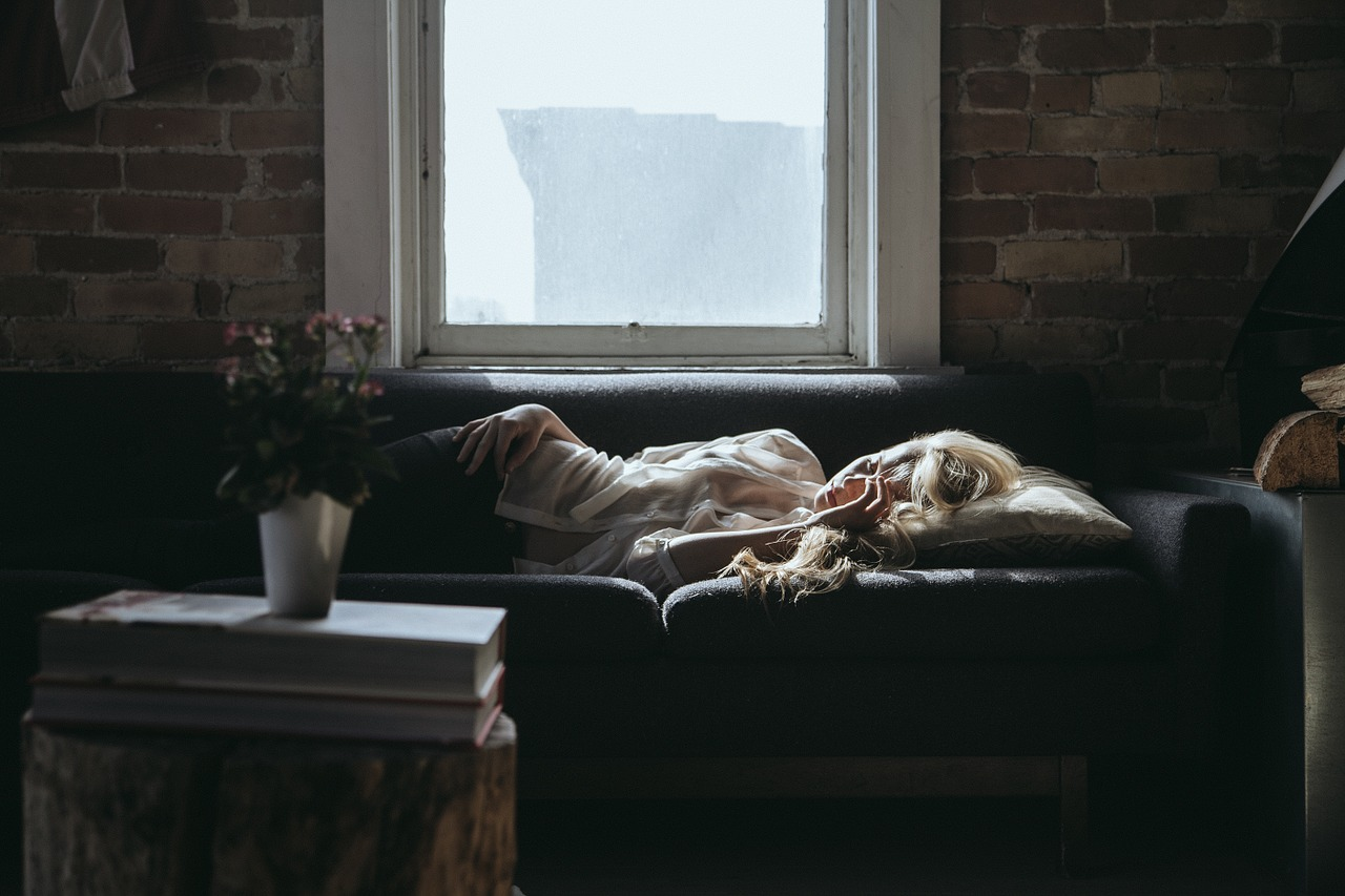femme dormir