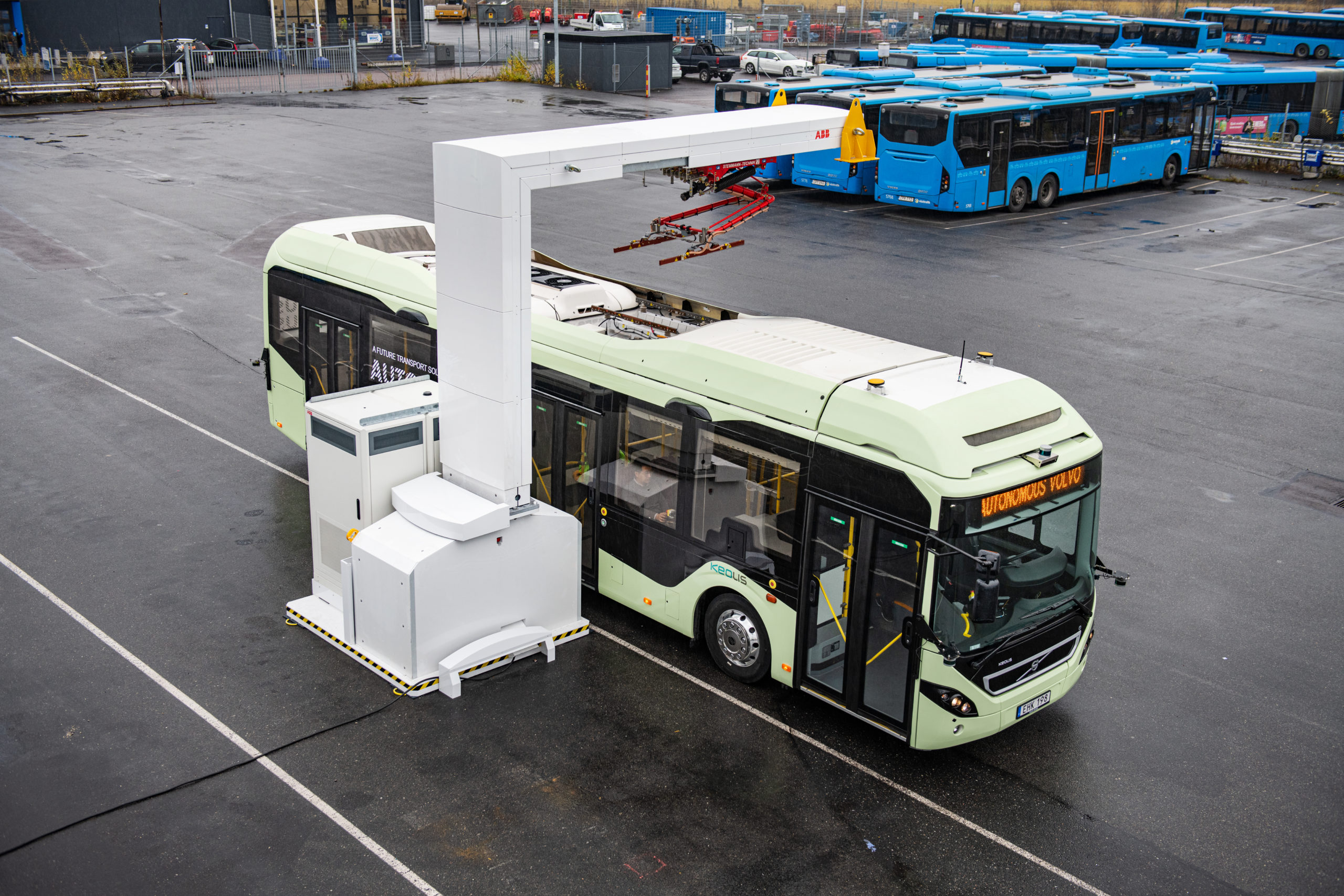 Bus volvo autonome