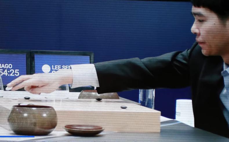 jeu de Go Lee Sedol