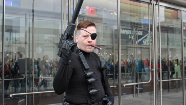 Cosplay de Nick Fury