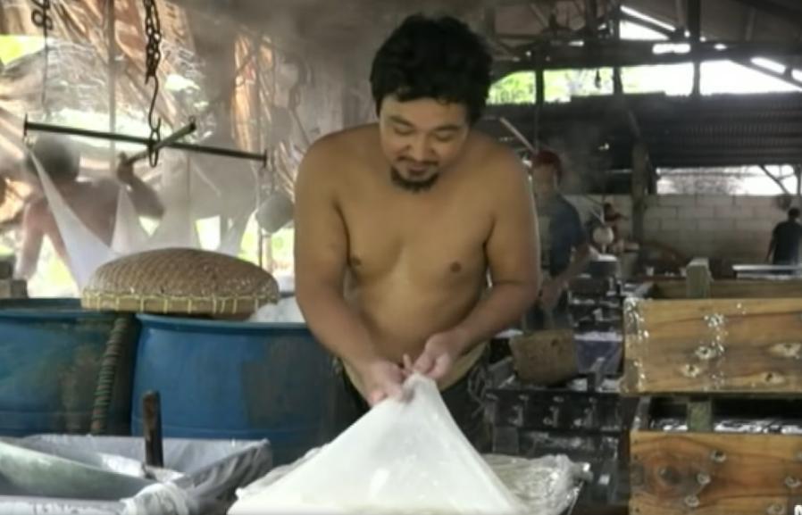 tofu indonésie fabrication