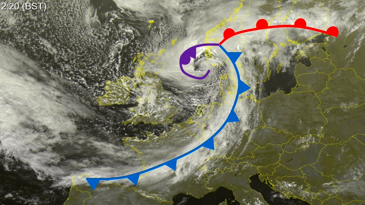 cold front warm front meteorology