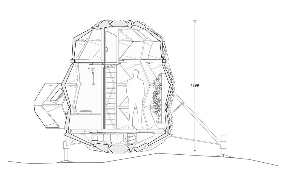 Un prototype d'habitat lunaire sera bientôt testé au Groenland ! Habitat-Lune
