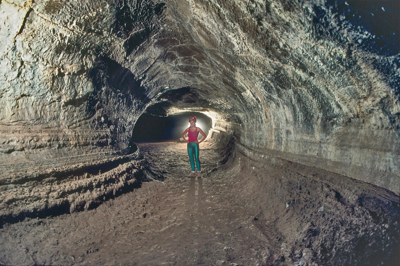 lava tunnel march
