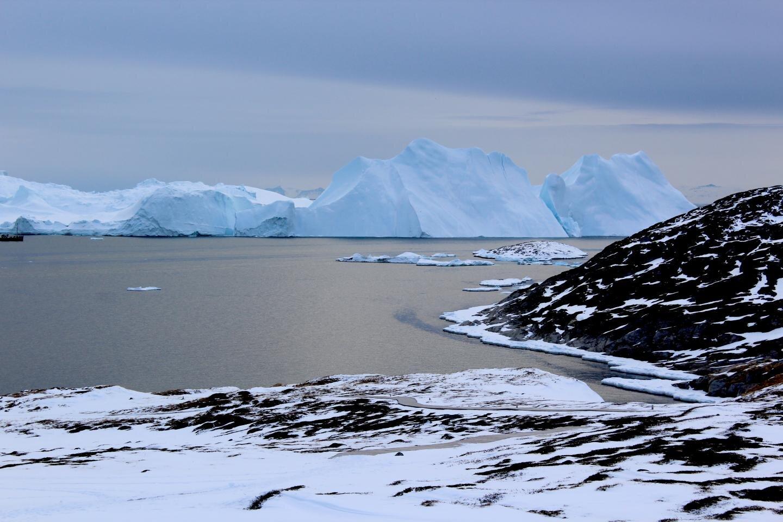 groenland glaciers