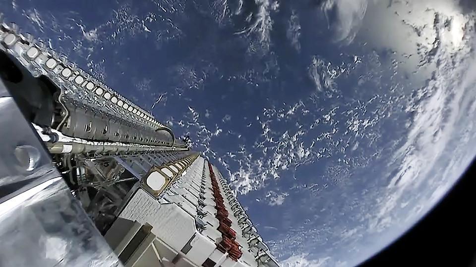 starlink satellites