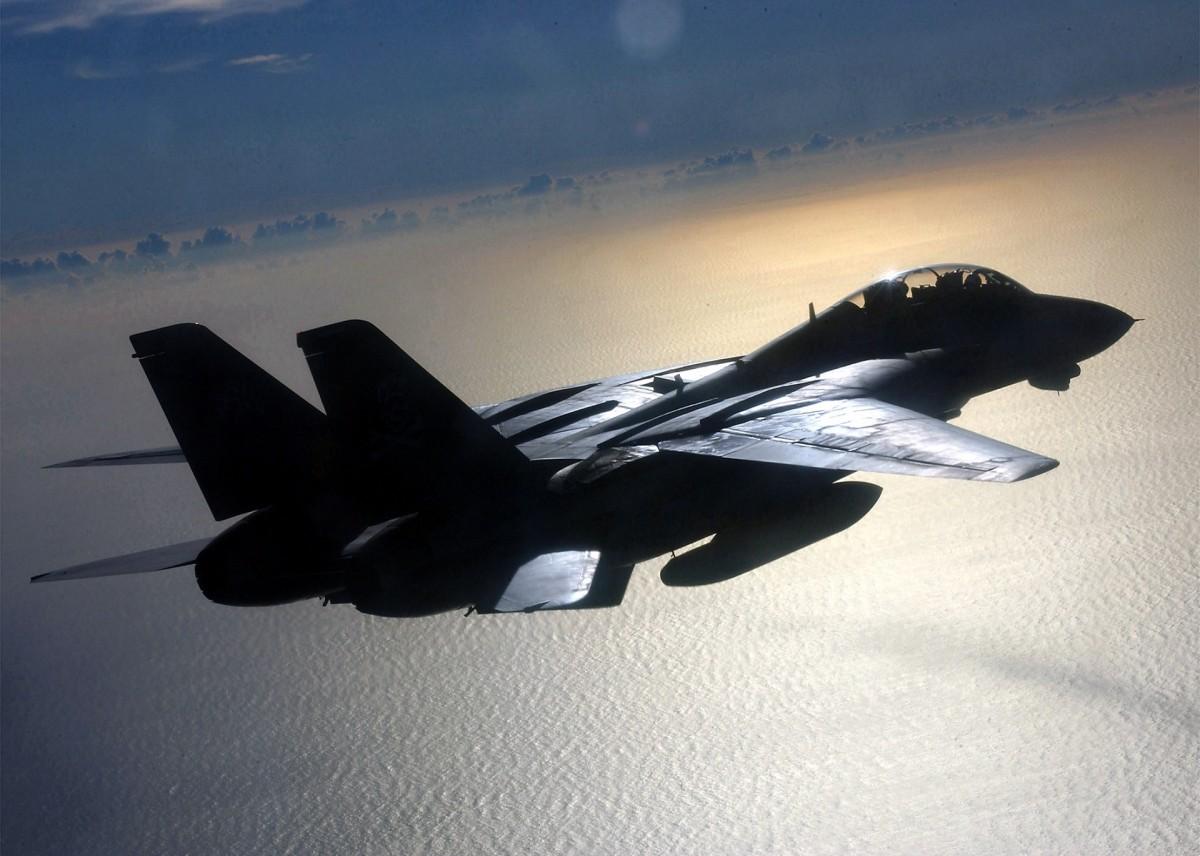 Air force F-14 tomcat avion de chasse