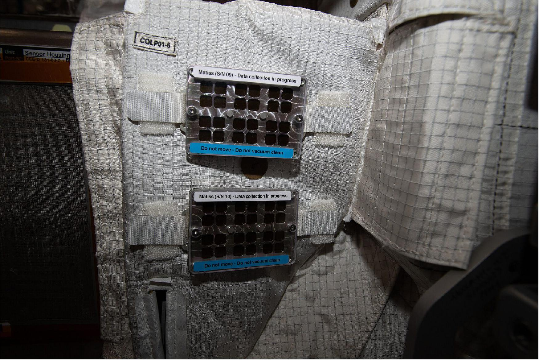 experience the ISS biofilm