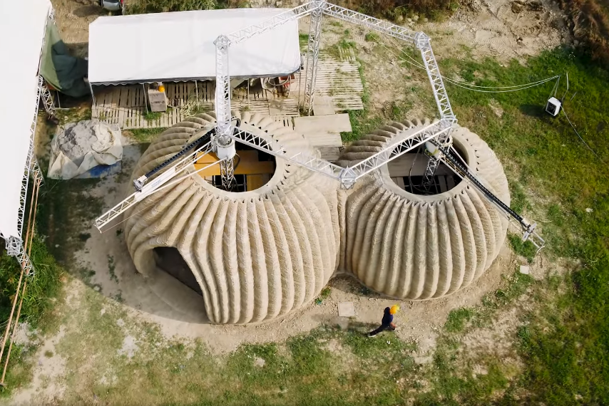 3d printing house italy