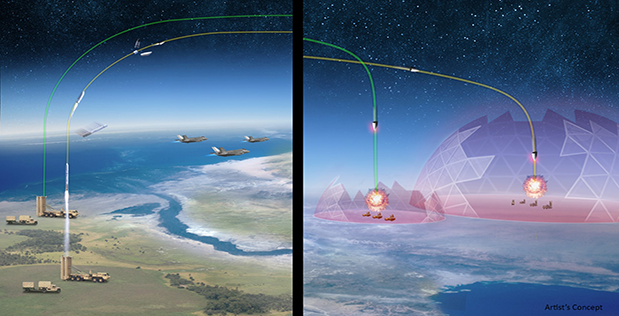 nuclear hypersonic DARPA missiles