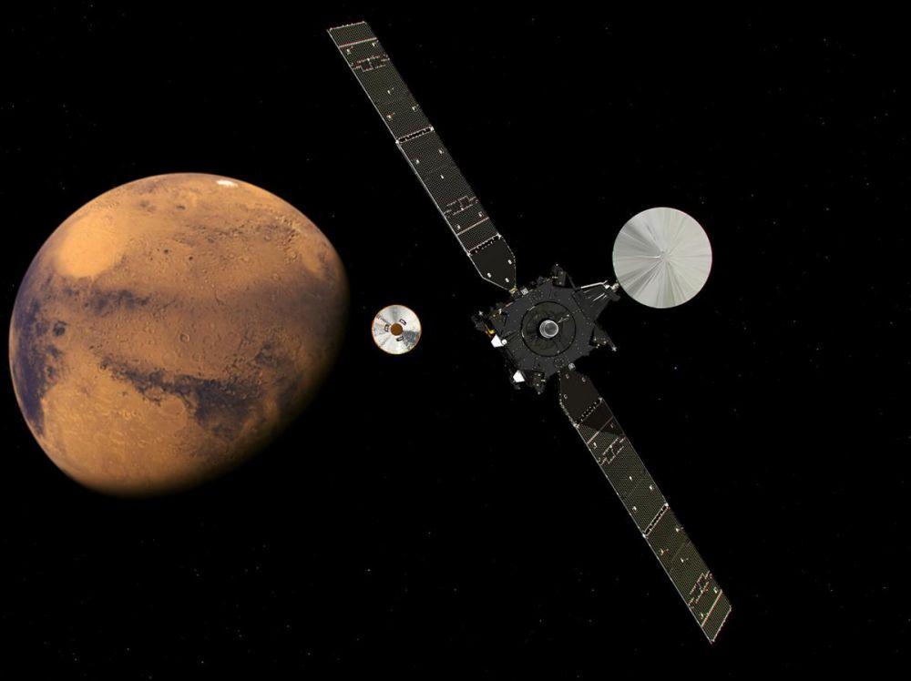 Une réaction chimique inédite a été détectée sur Mars - SciencePost