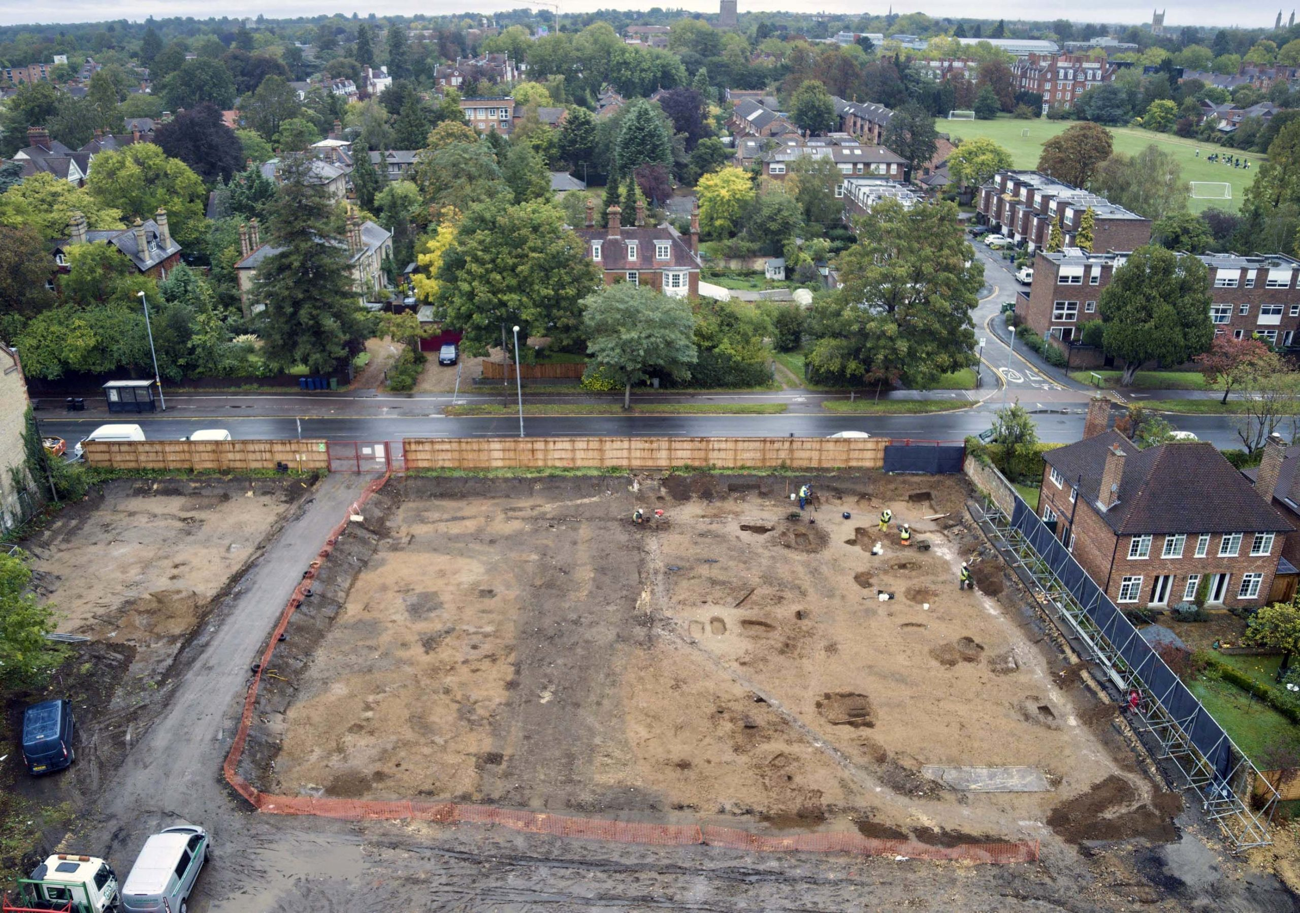 croft gardens archaeological site