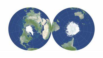 projection disque cartographie