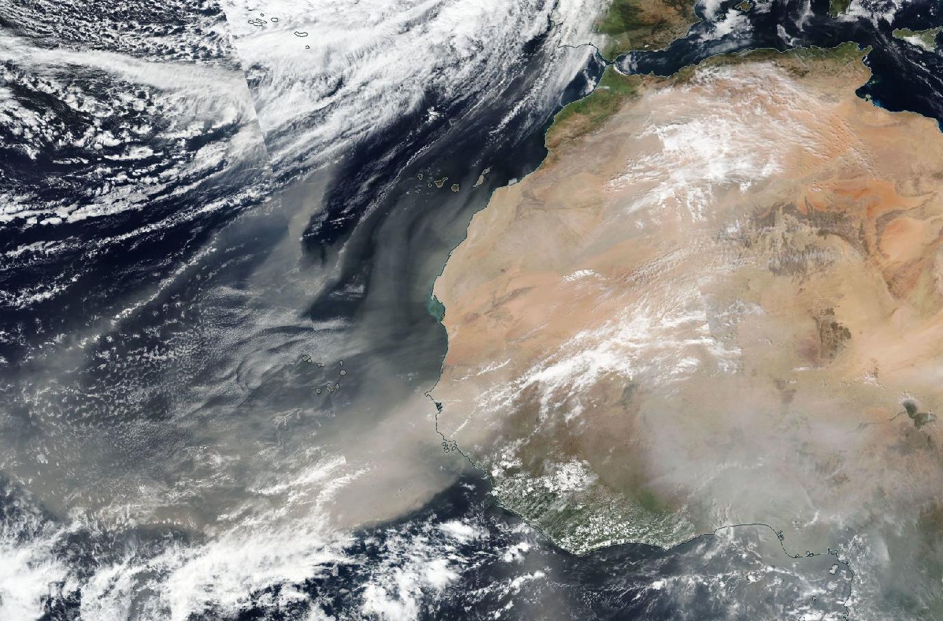 poussières sahariennes