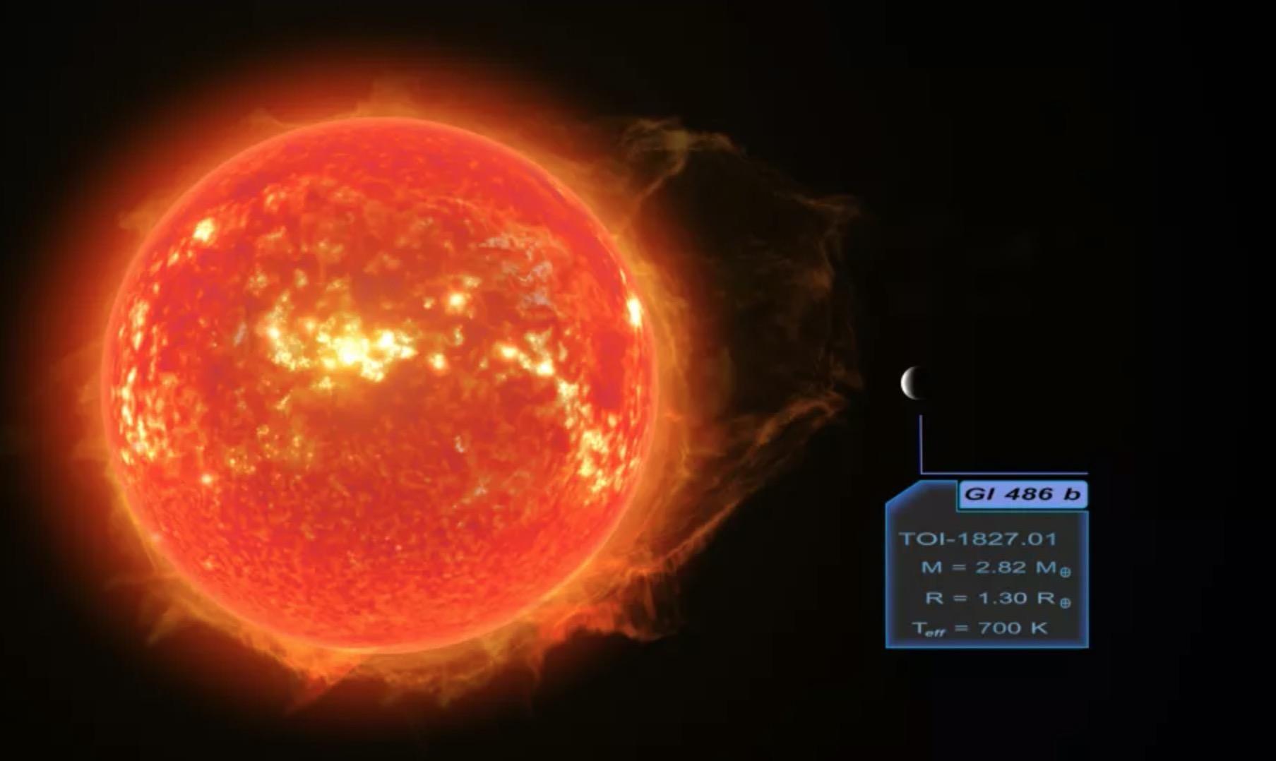 exoplanet Gliese 486 b