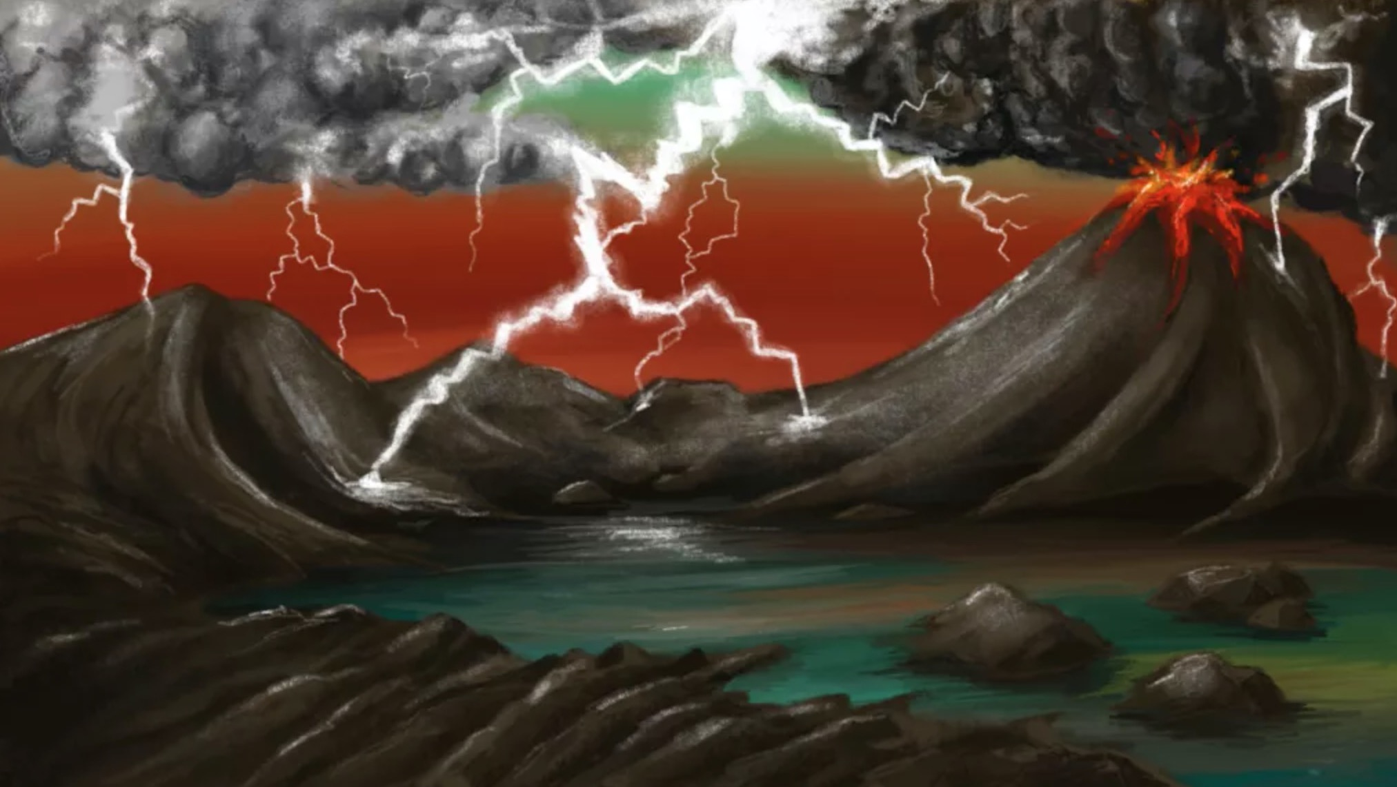 earth life lightning