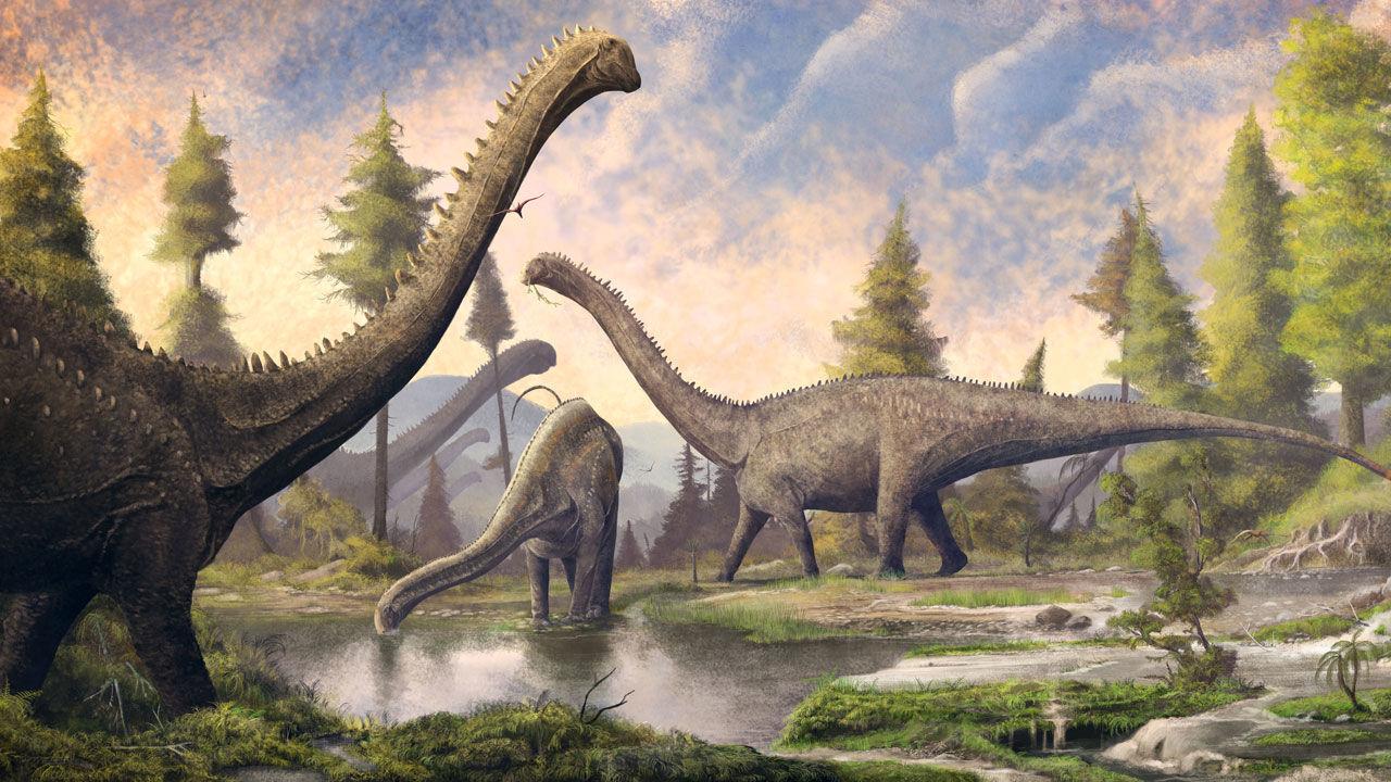 gastrolithic sauropod dinosaur