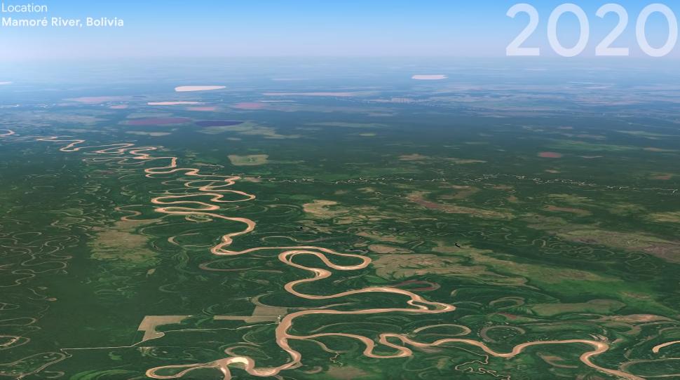 bolivia forest google earth 2