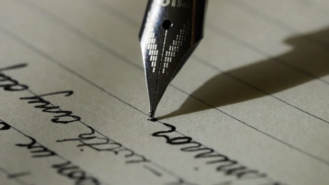 ecriture stylo plume